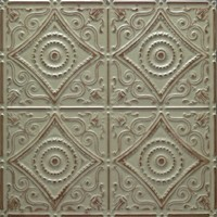 Tin Ceiling Tiles can Accent your Room's Decor