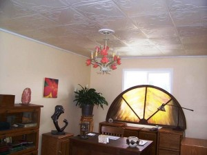 Decorative Ceiling Tiles are DIY Friendly