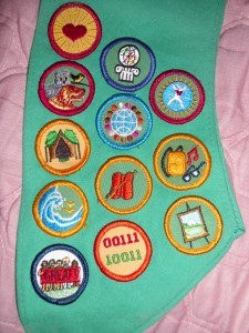 Girl Scout Badges Reward Achievements