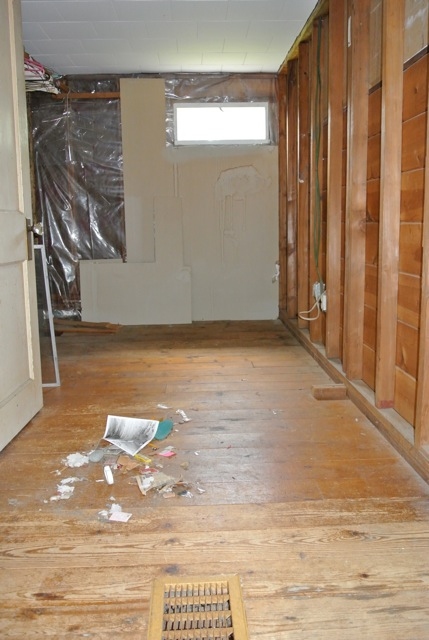 Before Image of a Bathroom at Cape Code House by Nancy Webb