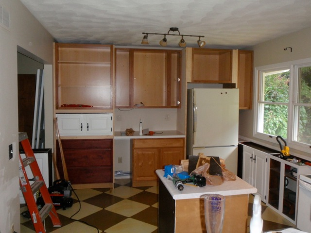 Kitchen Ceiling Before by Jen Copland