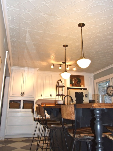 Kitchen Ceiling After By Jen Copland