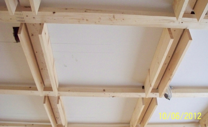 Framing for a Coffered Ceiling by Susan M. Meyers