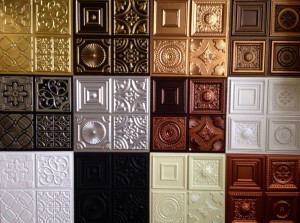 Faux Leather Ceiling Tiles Tile Ideas Decorative