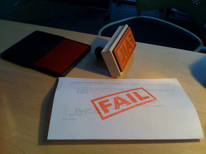 FAIL stamp http://hans.gerwitz.com/2011/03/07/fail-stamp.html