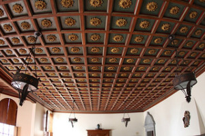 Italian Room: So Fancy Ceiling